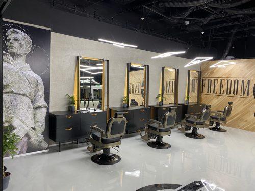 barbershop bystrica kreslá