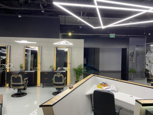 barbershop recepcia